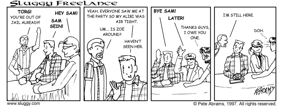 Comic for 11/03/1997