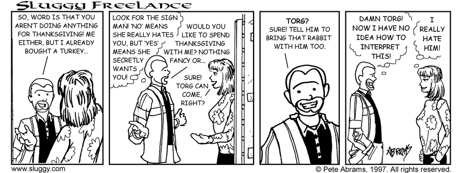 Comic for 11/25/1997