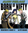 MegaTome 01 (Books 1, 2 & 3) - Born of Nifty (Paperback)