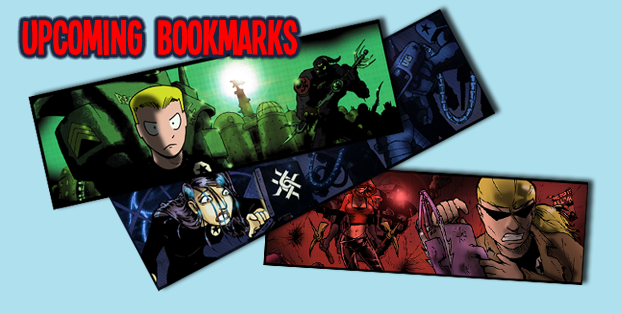 Upcoming 4U City Bookmarks